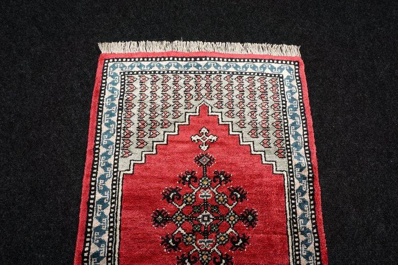 Seidenteppich Berber Seide 64 x 41 cm Orient Teppich