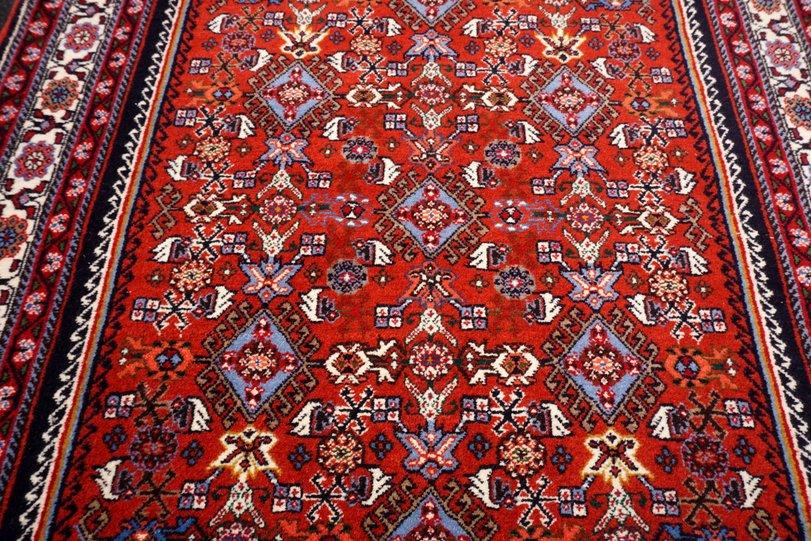 Antiquitäten & Kunst Teppiche Orient Teppich Rot 150 X 105 Cm Perserteppich Herati Handgeknüpft Red Carpet Rug