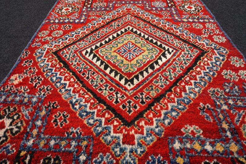 Teppiche & Teppichböden Orient Teppich Berber 200 X 109 Cm Marokko Handgeknüpft Carpet Rug Tappeto Tapis Persische Teppiche