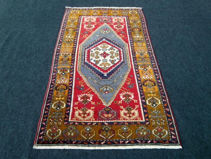 Antiker Alter Orient Teppich Yahyali 158 x 93 cm Anatolien