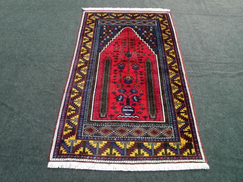 Alter Orient Teppich Yahyali Rot 200 x 120 cm Türkei Old