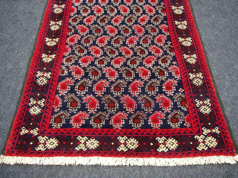 Perser teppich muster  Orient Teppich Belutsch 168 x 86 cm Boteh Termeh Muster ...