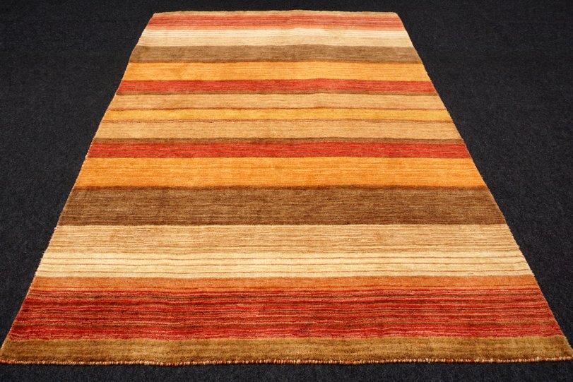 orient teppich gabbeh 205 x 145 cm modern streifen muster perserteppich carpet ebay. Black Bedroom Furniture Sets. Home Design Ideas