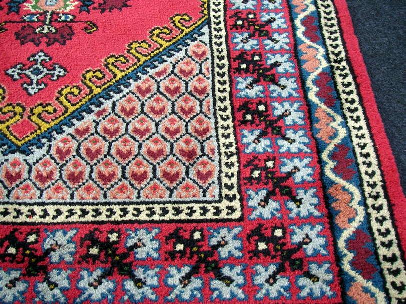orient teppich berber 182 x 123 cm marokko rot handgekn pft carpet rug tappeto ebay. Black Bedroom Furniture Sets. Home Design Ideas